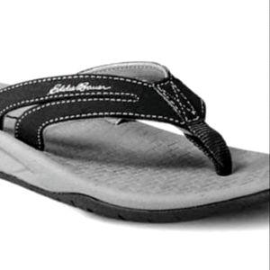 Final Sale** Eddie Bauer Women's Flip Flop Black